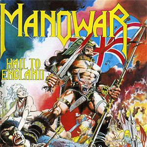Manowar - Hail To England - Artwork - Album Review