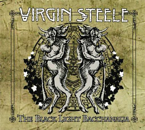Virgin Steele The Black Light Bacchanalia Artwork