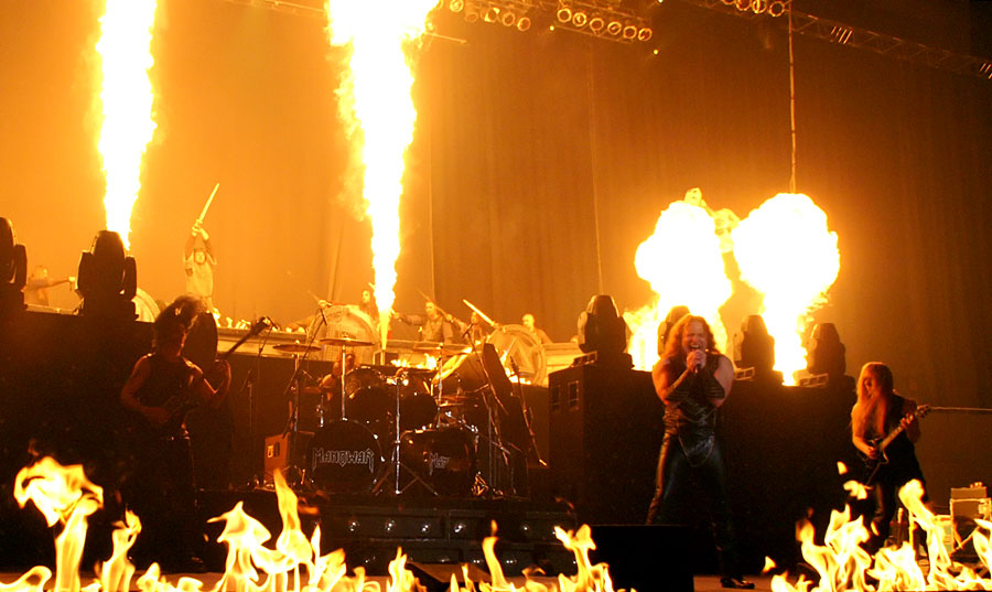 Manowar - Live with Rhapsody of Fire and HolyHell in Germany, March 2007 - The Tour Report