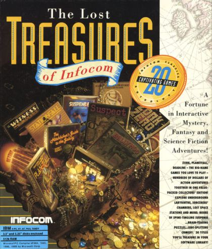 The Lost Treasures of Infocom - Artwork