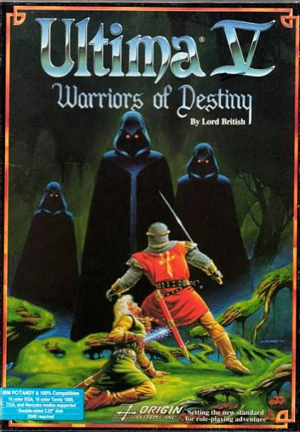 Ultima V: Warriors of Destiny - Artwork
