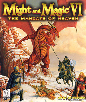 Might and Magic VI - The Mandate of Heaven - Rekindling the Fire (Magic) - A Review of a Classic RPG