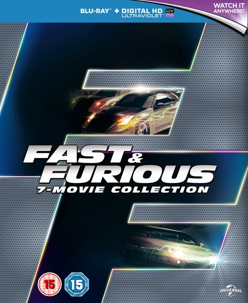 Fast & Furious 1-7
