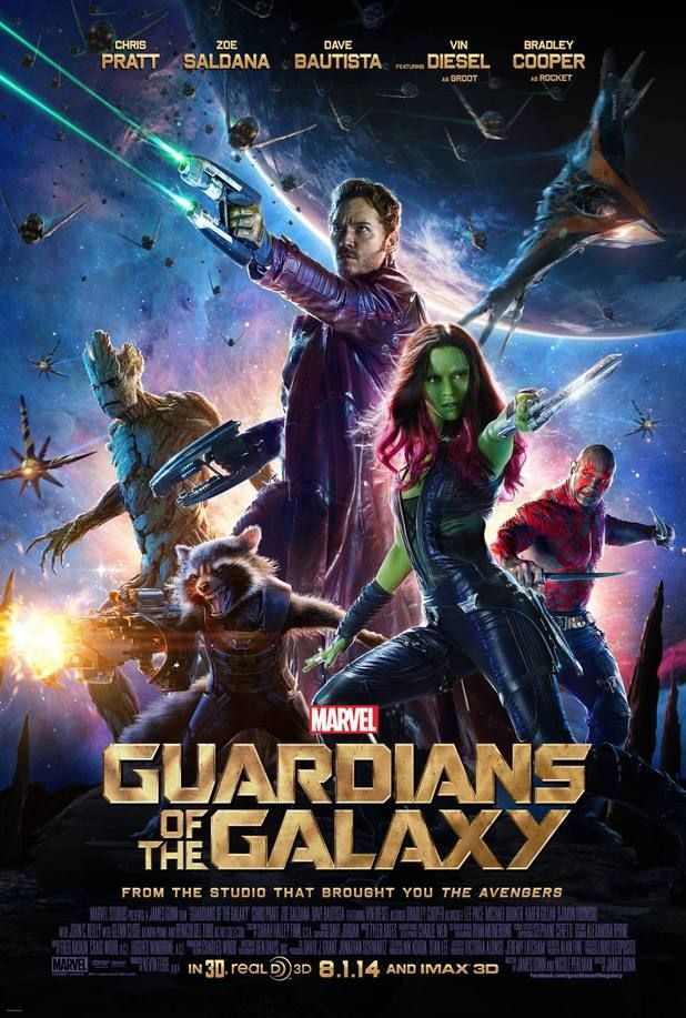 Guardians Of The Galaxy - Artwork