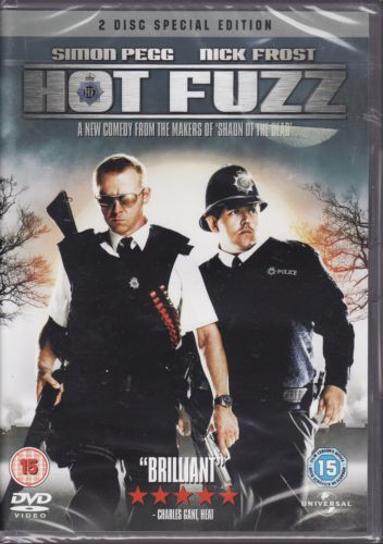 Hot Fuzz - Artwork