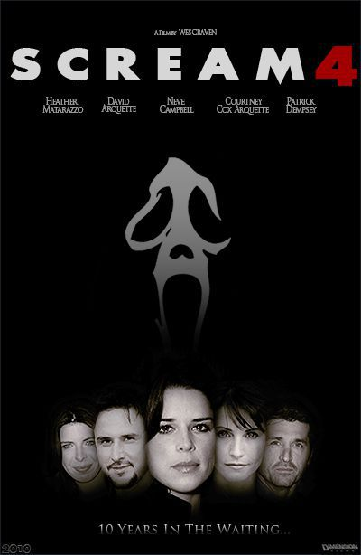 Scream 4 - Artwork